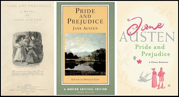 Pride and Prejudice Three Covers (2)