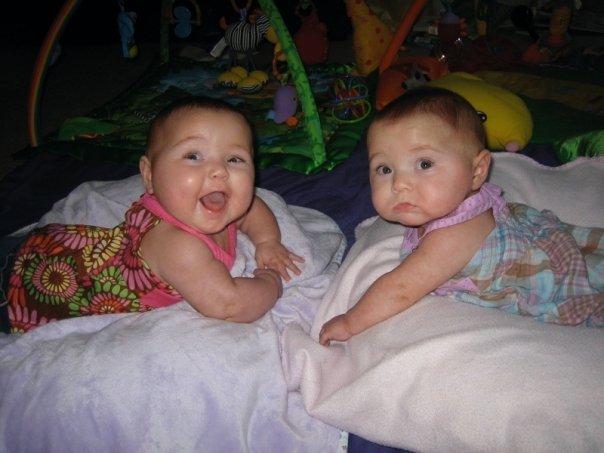 Twins Aug 2008