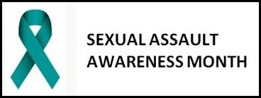 Sexual Assault Awareness Month Ribbon for April