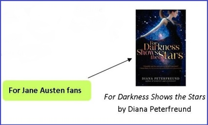 For Darkness Shows the Stars_Wrapped Up in Books Image