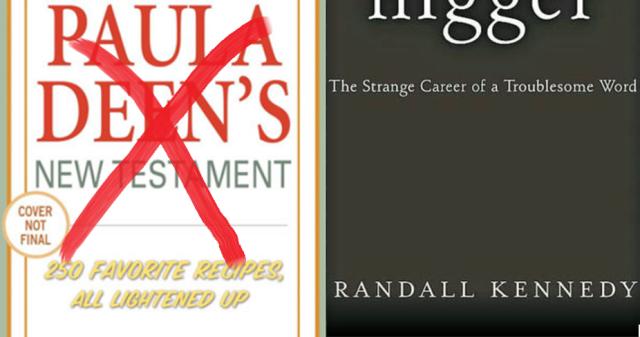 Paula Deen Book and Randall Kennedy Book
