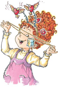 Fancy Nancy and the Too Loose Tooth Interior Illustration