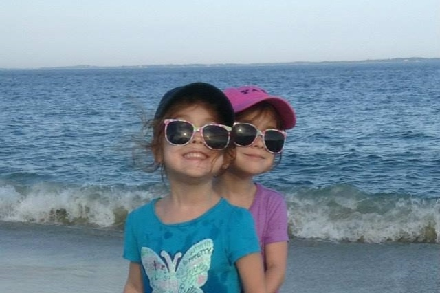 Twins at the Beach (2)
