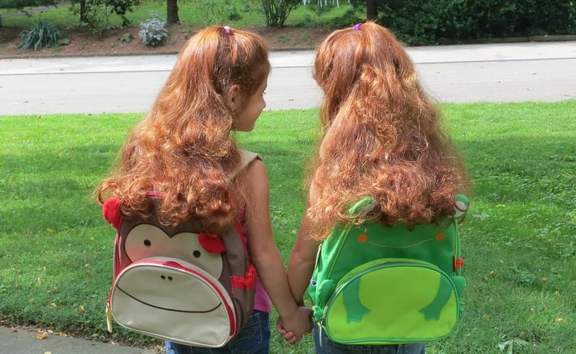 Off to Kindergarten_My Daughters_Misfortune of Knowing Blog