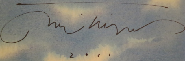 David Weisner Autograph