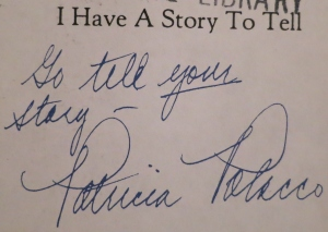 Go Tell Your Story Autograph (2)