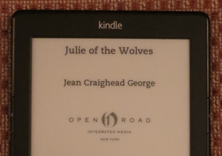 Kindle Julie of the Wolves (2)
