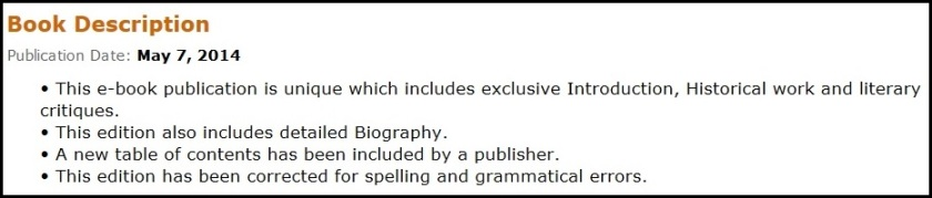amusing description