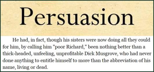 Persuasion Dick Musgrove