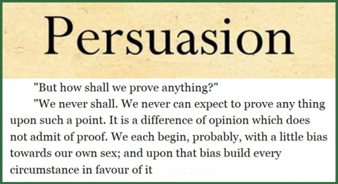 Persuasion Image with Quote