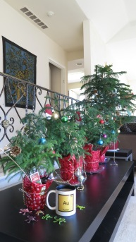 each child decorated their own tree this year