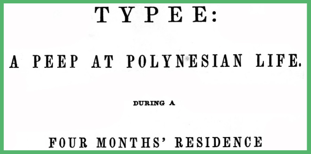 Typee Portion of Cover