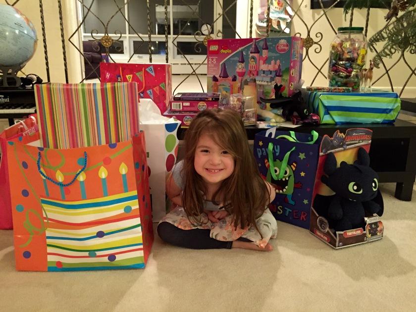 Zayla is four