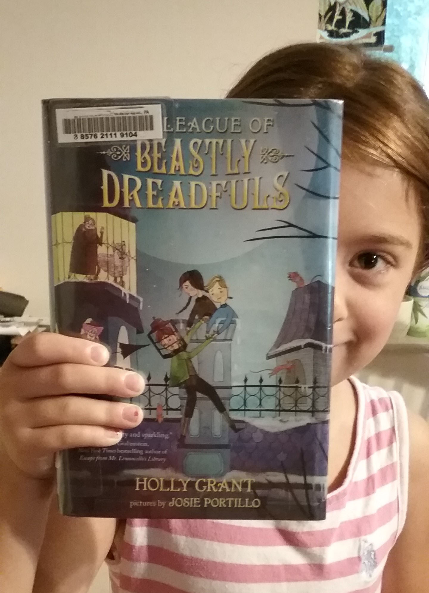 Recently, My Sixyearold Left The Library With Two Thick Books In Her  Little Hands: The League Of Beastly Dreadfuls And Its Sequel, The League Of  Beastly